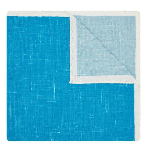 Contrast Border Pocket Square, ${color}