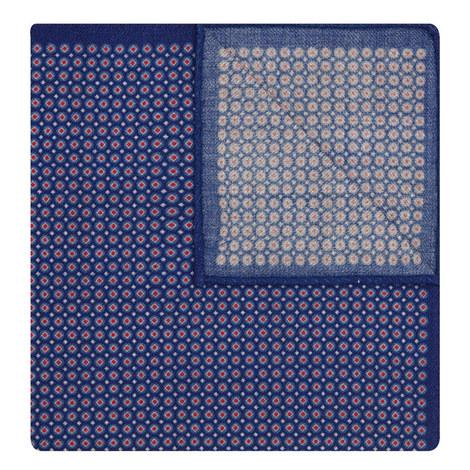 Patterned Wool Pocket Square, ${color}