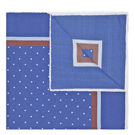 Spot Pattern Pocket Square, ${color}