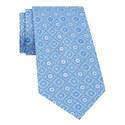Geometric Floral Print Tie, ${color}