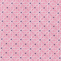 Geometric Circle Print Silk Tie, ${color}