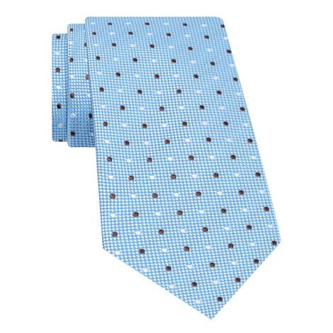 Polka Dot Pattern Silk Tie, ${color}