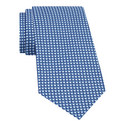 Diamond Print Woven Silk Tie, ${color}