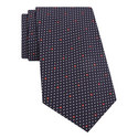 Polka Dot Pattern Silk Tie, ${color}