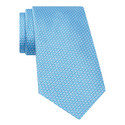 Textured Patterned Silk Tie, ${color}