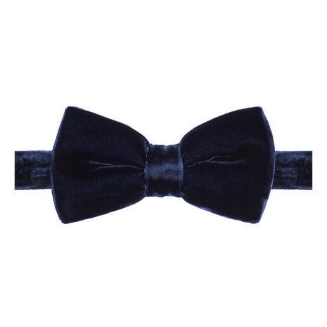 Velvet Bow Tie , ${color}
