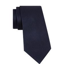 Textured Chevron Silk Tie