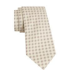 Circle Dot Silk Tie