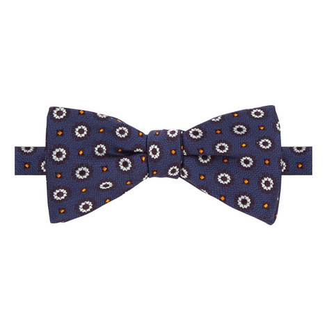 Circle Dot Bow Tie, ${color}