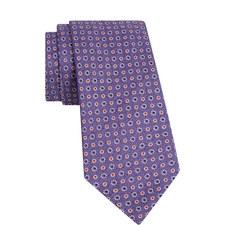 Textured Floral Dot Tie
