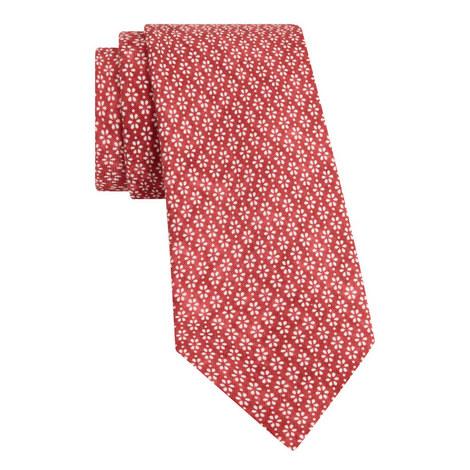 Floral Print Tie, ${color}