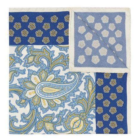 Paisley Print Pocket Square, ${color}