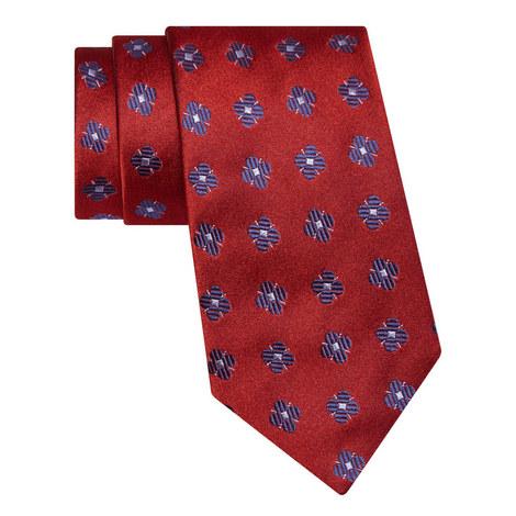 Large Floral Pattern Tie, ${color}