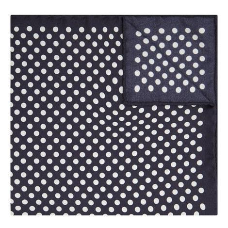 Large Spot Pocket Square, ${color}