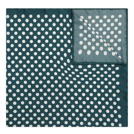 Large Spot Pocket Square, ${color}