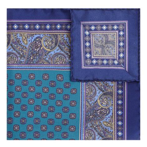 Paisley Tile Pocket Square, ${color}