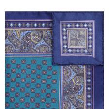 Paisley Tile Pocket Square