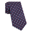 Geometric Floral Pattern Tie, ${color}