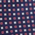 Geometric Floral Pattern Tie, ${color}