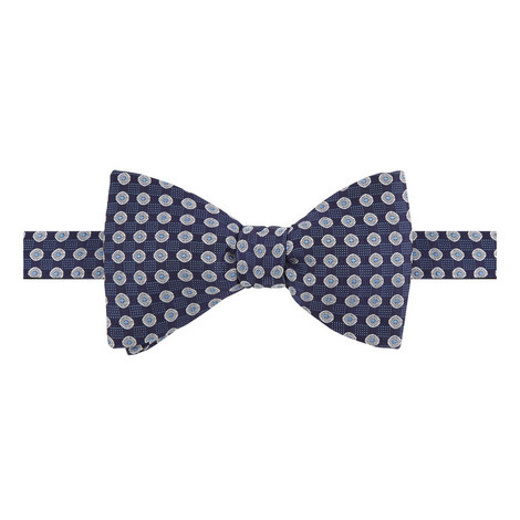 Geometric Pattern Bow Tie, ${color}