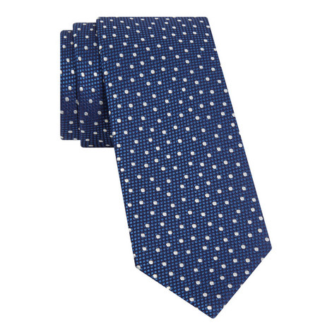 Textured Polka Dot Tie, ${color}