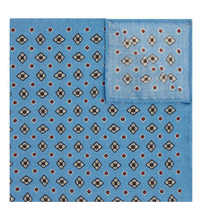 Contemporary Print Pocket Square
