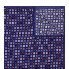 Geometric Square Print Pocket Square