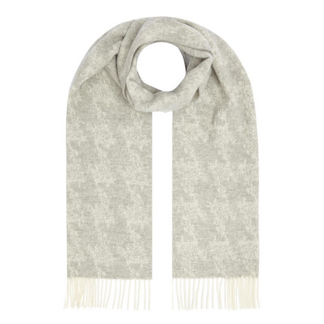 Textured Pattern Scarf, ${color}
