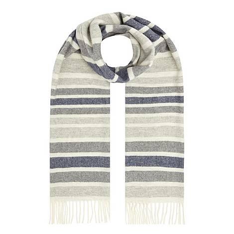 Herringbone Stripe Scarf, ${color}