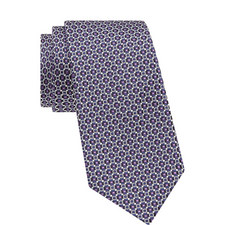 Hexagon Pattern Tie