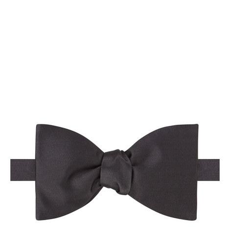 Solid Silk Bow Tie, ${color}