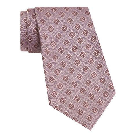 Textured Silk Tie, ${color}