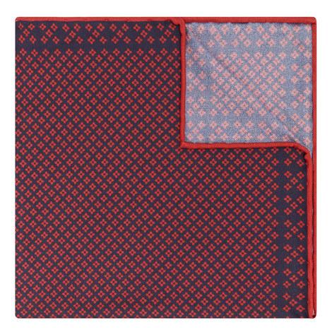 Diamond Pattern Pocket Square, ${color}