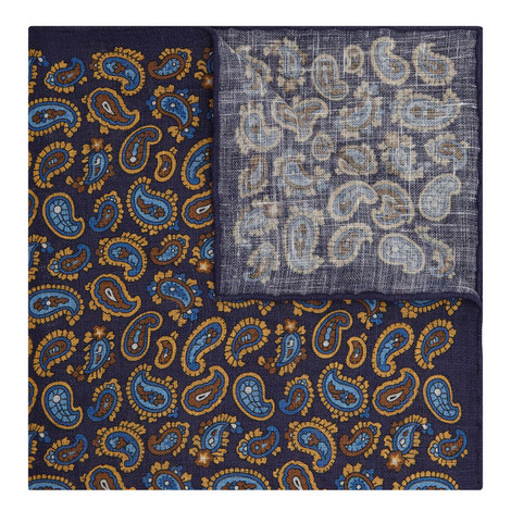 Paisley Pattern Pocket Square, ${color}