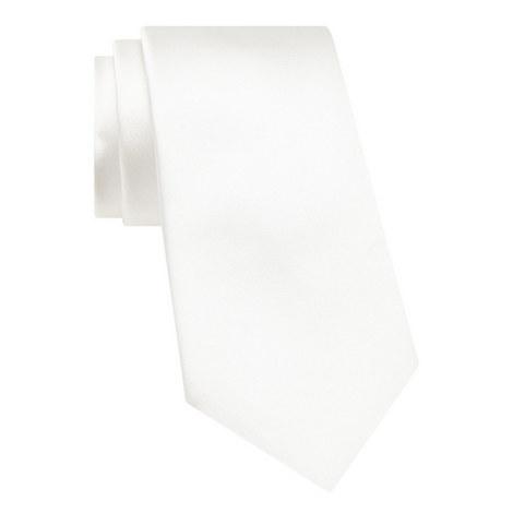 Satin Finish Silk Tie, ${color}