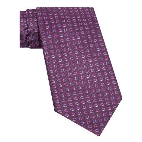 Horseshoe Print Tie, ${color}