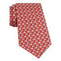 Elephant Print Silk Tie, ${color}