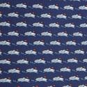 Boat Print Silk Tie, ${color}