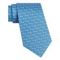 Hedgehog Daisy Print Tie, ${color}