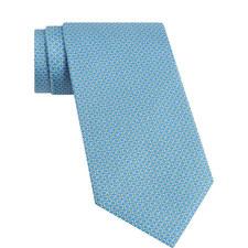 Double Gancio Silk Tie