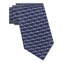 Squirrel Snail Print Tie, ${color}