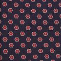 Flower Print Silk Tie, ${color}