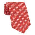 Rabbit Print Silk Tie, ${color}