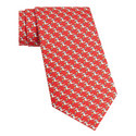 Crocodile Pattern Tie, ${color}