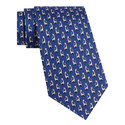 Giraffe Bird Print Tie , ${color}