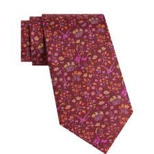 Darly Floral Print Tie