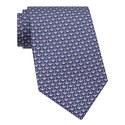 Anchor Print Silk Tie, ${color}