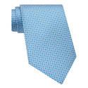 Gancini Print Silk Tie, ${color}