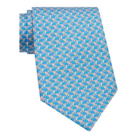 Deck Chair Print Tie, ${color}