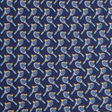 Tennis Racket Print Tie, ${color}